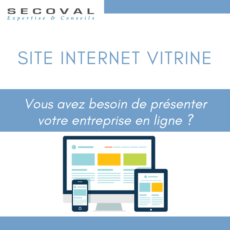 Site internet vitrine Secoval Manosque Aix-en-Provence Sisteron
