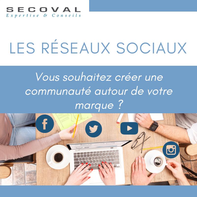 Réseaux sociaux Secoval Manosque Aix-en-Provence Sisteron